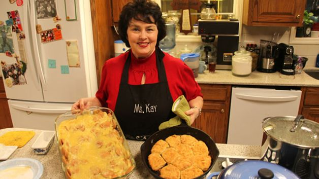 matriarch Miss Kay Robertson revealed her quick biscuits recipe photo