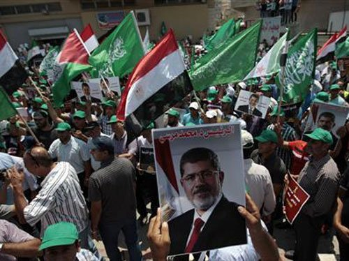 Eleven supporters of ousted President Mohamed Morsi have been sentenced to life in prison after being convicted of attacking the Egyptian army