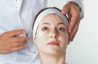 FDA approved Botox treatment for crow's feet and lines