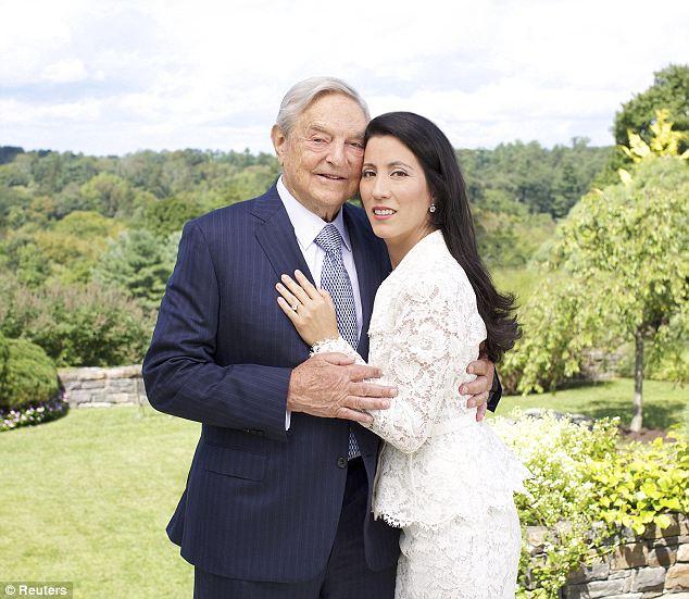 George Soros and Tamiko Bolton's wedding details | BelleNews.com