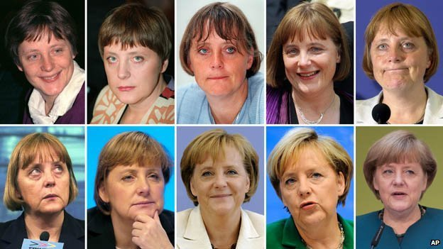 German Chancellor Angela Merkel is an unusually private and reticent politician photo