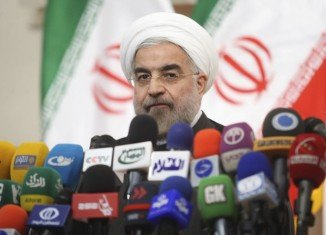 Hassan Rouhani called from stricter controls on nuclear weapons as part of a global effort to eventually rid the world of the