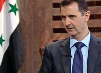 "In an interview with PBS, Syrian President Bashar al-Assad said there is ""no evidence"" that his government has used chemical weapons"