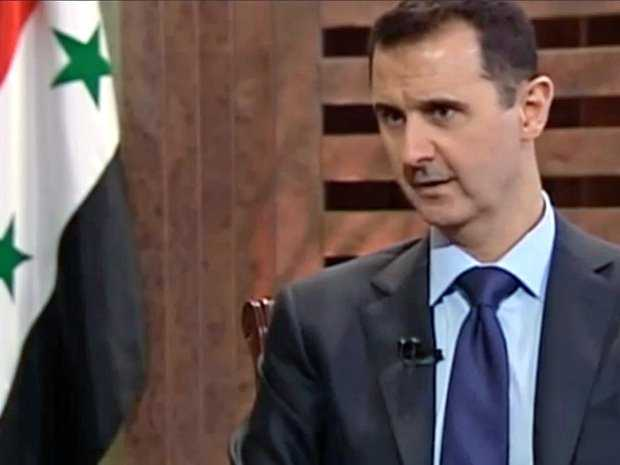 """In an interview with PBS, Syrian President Bashar al-Assad said there is """"no evidence"""" that his government has used chemical weapons"""