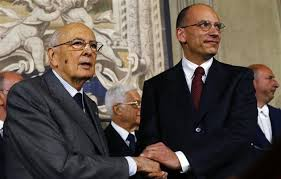 Italian President Giorgio Napolitano is considering ways out of an acute political crisis after ex-PM Silvio Berlusconi's ministers left the coalition government