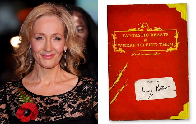 JK Rowling is to make her screenwriting debut in a new Harry Potter themed film series photo