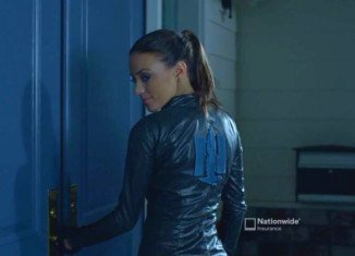 Jana Kramer is Cat Woman in new Nationwide Insurance commercial