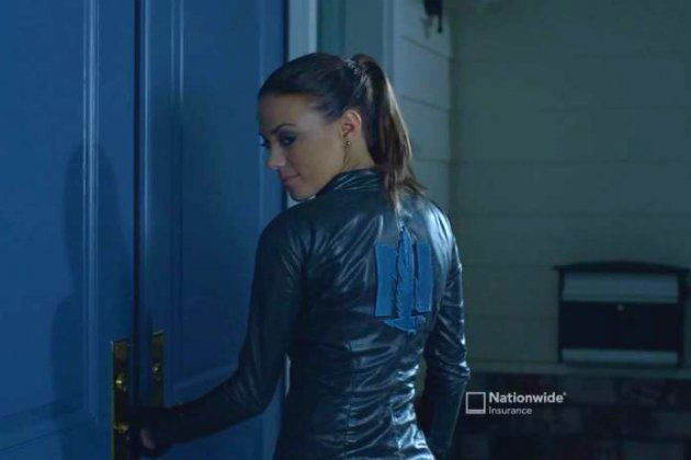 Jana Kramer is Cat Woman in new Nationwide Insurance commercial photo