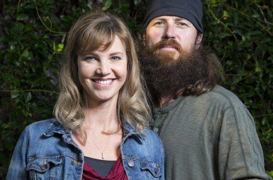 Jase and Missy Robertson attended the Ouachita Christian game