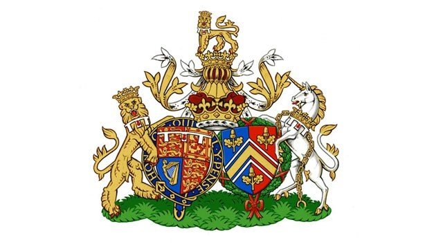 Kate Middleton and Prince William get new conjugal coat of arms photo
