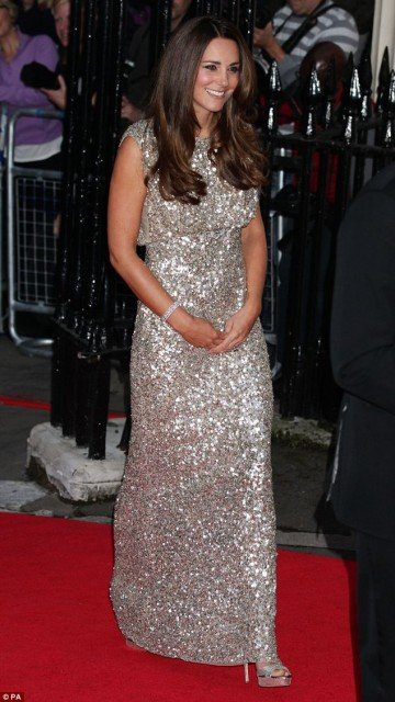 Kate Middleton made her first red carpet appearance since becoming a mother