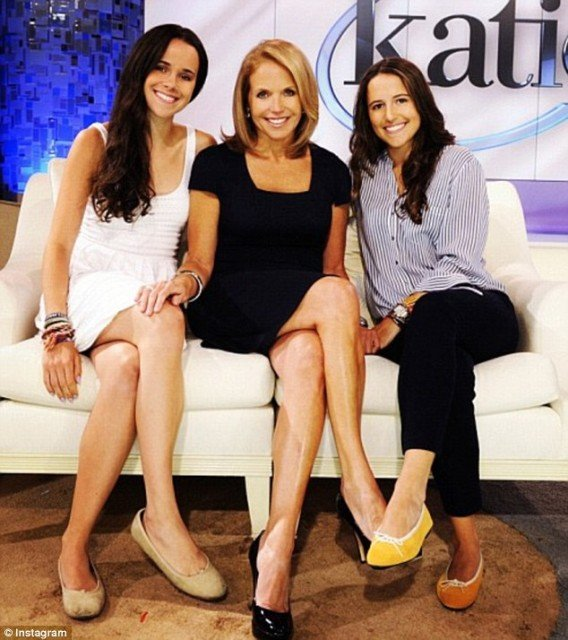 Katie Couric has had several suitors over the years but never seemed to find the right match 568x640 photo