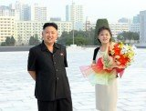 Kim Jong-un and his wife Ri Sol-ju have a baby daughter called Ju-ae