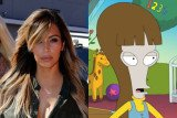 Kim Kardashian will appear on an upcoming episode of the Fox cartoon comedy American Dad! later in this season