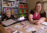 Mama June suggests organizing coupons in a binder with labels for each individual product, and bringing the binder to the store