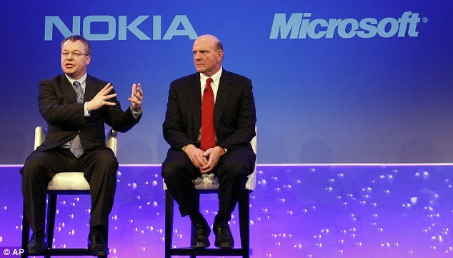Microsoft has agreed a deal to buy Nokias mobile phone unit for 5.4 billion euros photo