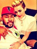 Miley Cyrus has been getting close to her record producer Mike WiLL Made It