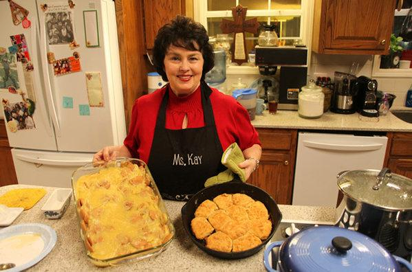 Miss Kay Robertson shared her banana pudding recipe, one of the Robertsons' favorite desserts