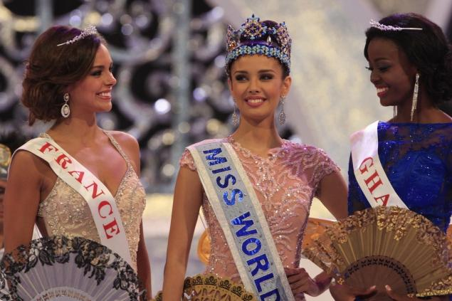 Miss Philippines, Megan Young, has been crowned Miss World 2013 on the Indonesian island of Bali