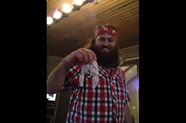 One of Willie Robertson's favorite recipes is Garlic Frog Legs