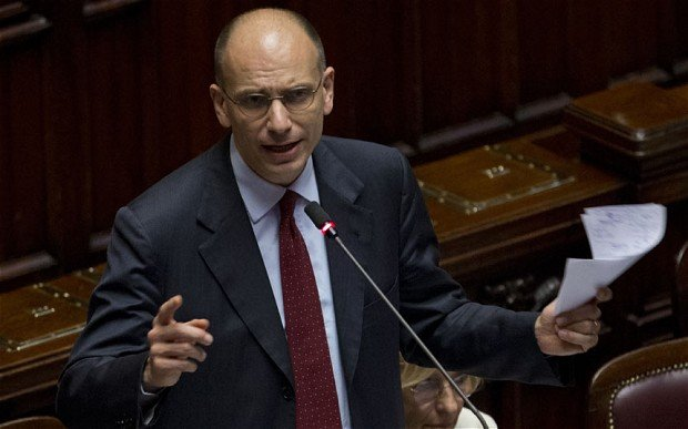PM Enrico Letta has threaten to resign unless his cabinet gets clear backing in a parliamentary vote expected to be called next week