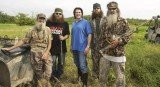 Phil Robertson and his family have joined premier poster artist Michael Hunt of Louisiana and New Orleans Saints' Coach Sean Payton for two redneck masterpieces