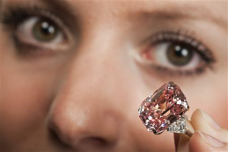Pink Star diamond will be auctioned in Geneva at a record asking price of $60 million