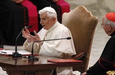Pope Emeritus Benedict XVI has denied any role in covering up child abuse by priests, in his first public comments since retirement
