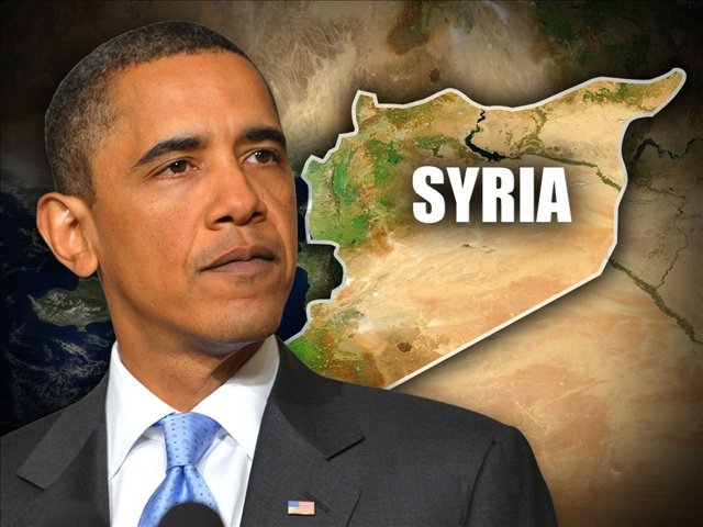 President Barack Obama's plans for a military strike on Syria have won backing from key US political figures photo