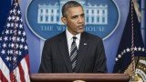 President Barack Obama urged House Republicans to pass the Senate's stopgap budget bill and to extend the debt limit