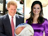 Prince Harry and Pippa Middleton are even-money favorites for becoming Pince George's godparents