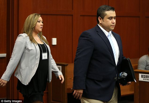 Shellie Zimmerman has filed for divorce just days after saying how her husband's murder trial put a strain on their marriage