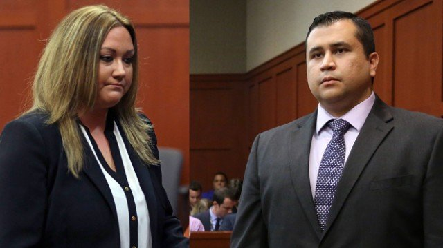 Shellie Zimmerman told police that George Zimmerman had punched her father and smashed her iPad