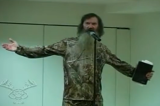 The Duck Commander Sunday is a yearly tradition where the entire Robertson family preaches to the congregation in full camo
