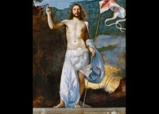 Titian's The Risen Christ is believed to have been executed around 1511
