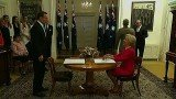 Tony Abbott has been sworn in as Australia's prime minister