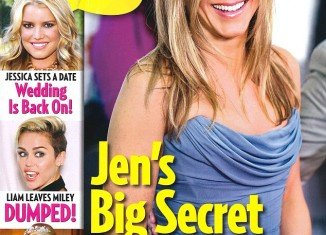 UsWeekly claimed Jennifer Aniston is pregnant with her fiancé Justin Theroux
