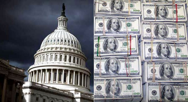 A federal government shutdown has begun as the US Congress has failed to agree a budget by October 1st photo