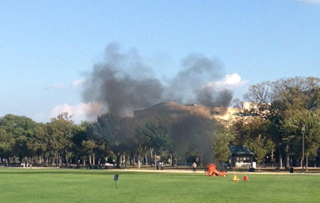 A man died after self-immolation on Washington DC's National Mall