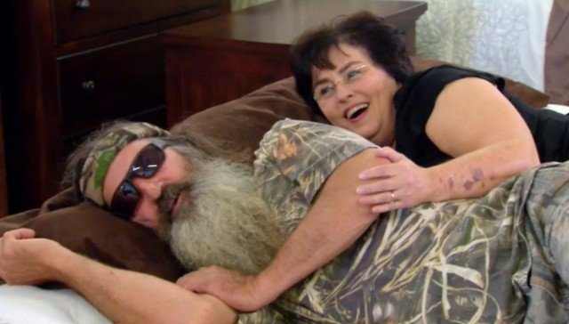 After a visit to the doctor, Phil and Miss Kay Robertson were worried about their mortality