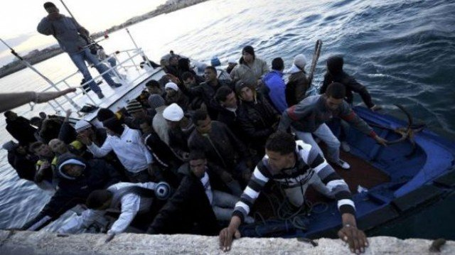 At least 50 people have died after a boat carrying migrants sank off near Lampedusa, southern Italy