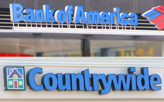 Bank Of America Acquired Countrywide Home Loans
