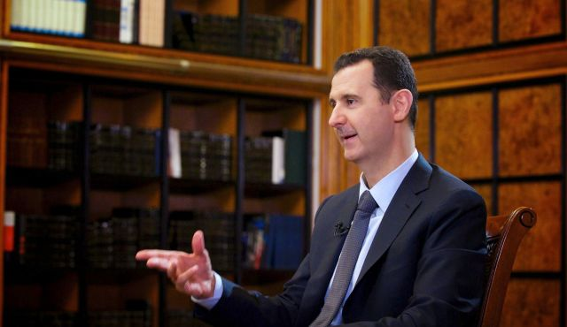 Bashar al-Assad has raised the possibility of Germany acting as a mediator to try to end Syria's 30-month-long civil war