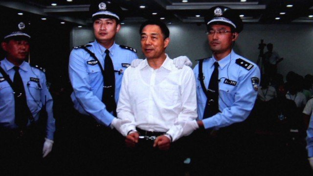 Bo Xilai was convicted of bribery, embezzlement and abuse of power last month and jailed for life