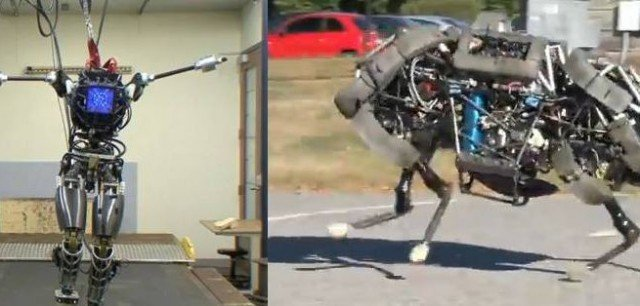 Boston Dynamics has presented its latest creations Atlas and WildCat 640x306 photo