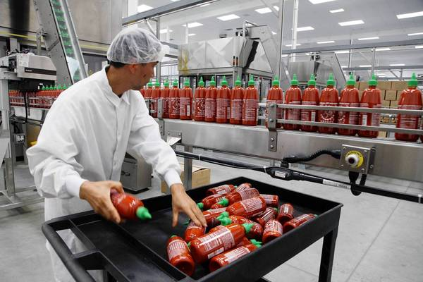 Californian city of Irwindale has sued the maker of Sriracha hot sauce saying the factorys smell makes the area uninhabitable photo
