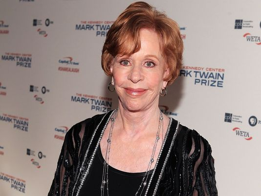 Carol Burnett has been honored with the Mark Twain Prize for American Humor photo