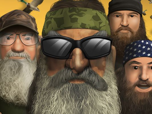 Duck Dynasty has spawned its own mobile game app called Battle of the Beards photo