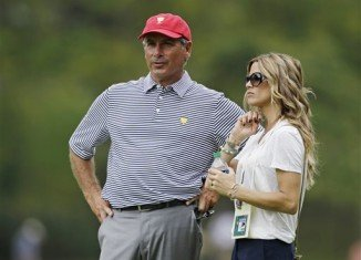 Fred Couples is currently dating Nadine Moze
