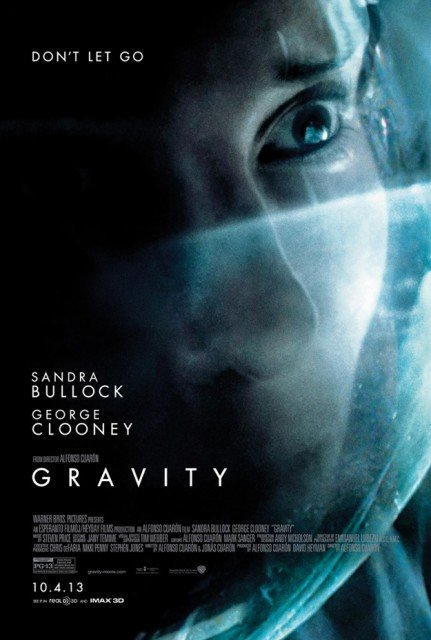 George Clooney and Sandra Bullock's new movie Gravity has shot straight to the top of the US box office in its opening weekend